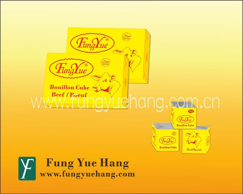 4g 10g HALAL Beef Flavor Stock Cube