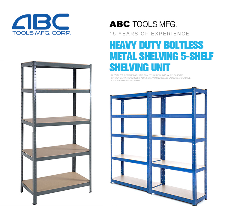 Heavy duty boltless metal steel warehouse storage steel shelving shelf bracket