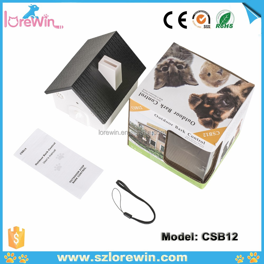 LoreWin CSB12 Amazon Best Hot selling Best Pet Training Products Dog Bark Control Accessories Electric Shock Anti-Bark Dog