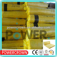 roofing fiber glass wool blanket insulation/ ceiling glass wool/ heat insulation glass wool