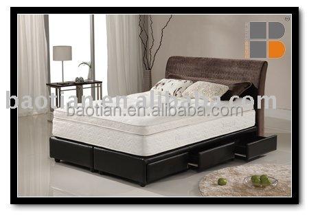 Single Bed Simple Designs : Wholesale Bedroom furniture simple single bed designs with drawer ...