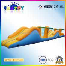 china supplier new product SJ-WG008 inflatable obstacle course damp proof course