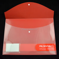 clear plastic decorative pocket folders