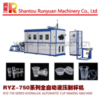RYZ-750 Disposable Plastic Glass Making Machine
