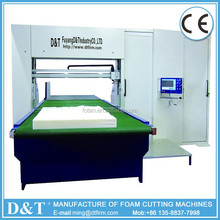 D&T Reasonable Price Efficient mattress pu foam cutting machine