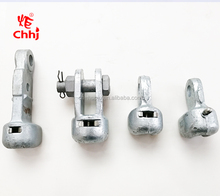 Good Quality Electric Power Fittings Pole Line Hardware W&R Socket Eye / Socket Clevis