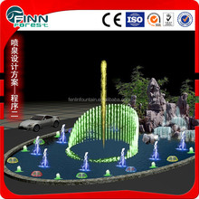 Music water outdoor jar fountain