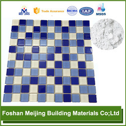professional back fibre decor wall coating for glass mosaic manufacture