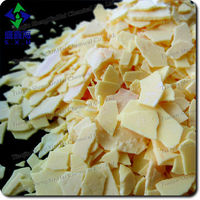 Na2S; Sodium Sulfide 60% Yellow Flakes ;HS Code :2830101000;UN No.:1849;Fe :25-30PPM ;Used in leather industry ;SGS