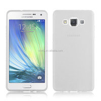 High quality Matte half transparent clear soft gel case for samsung galaxy A5