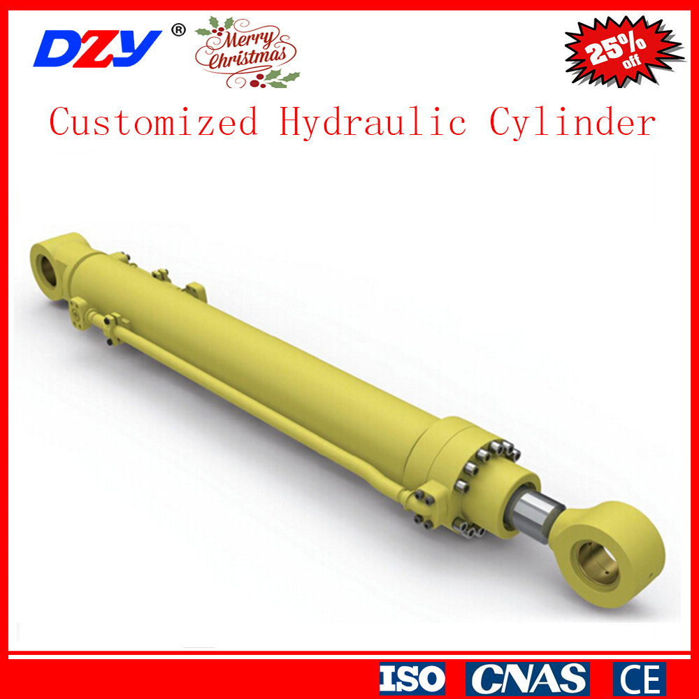 Hydraulic Dump Cylinders : Dump truck telescopic hydraulic cylinder for tipping