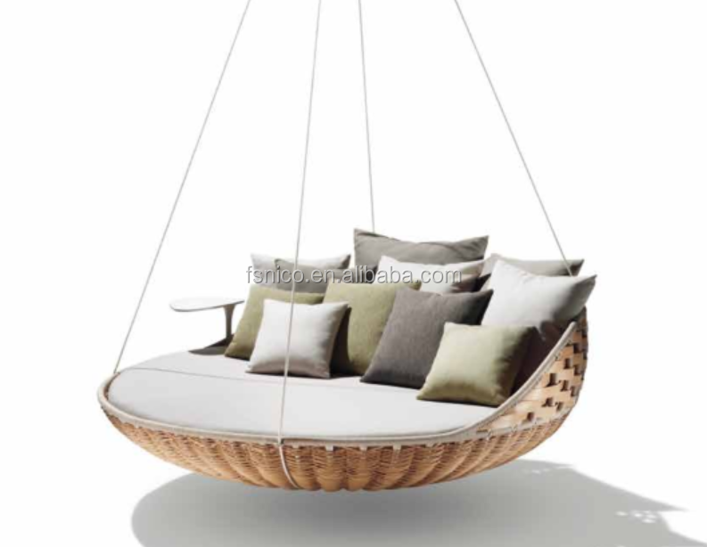 outdoor swing chair bed