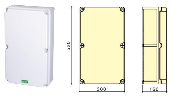 Iec ce panel mounting power box ip44 ip67 waterproof for How to size an electrical panel