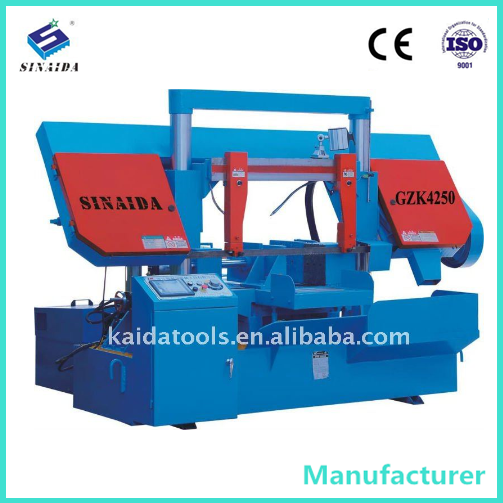 Automatic metal cutting machine band saw pipe cutting machine price Aluminum cutting machine manufacturer for small business