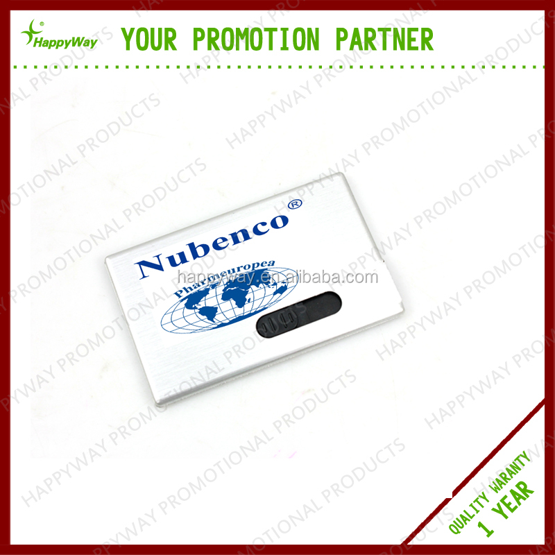 Top Grade Business Card USB Flash Drive, MOQ 100 PCS 0505002 One Year Quality Warranty