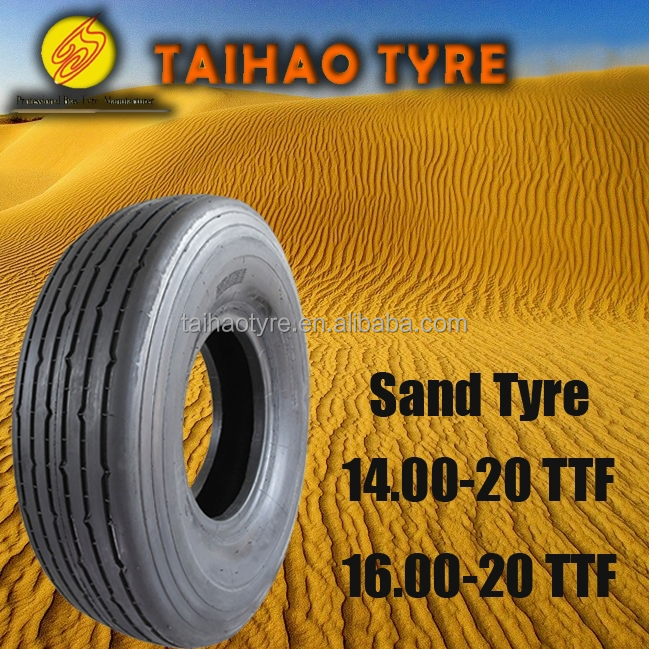 China tyre manufacturer desert tire 14.00x20 Sand tyre