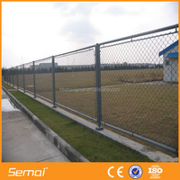 hot sale PVC coated galvanized chain link fence gates