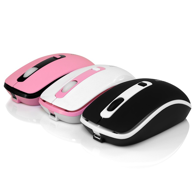MINI Soundless 2.4G Wireless Mouse Colorful Mouse