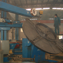medium type movable tube welding manipulator