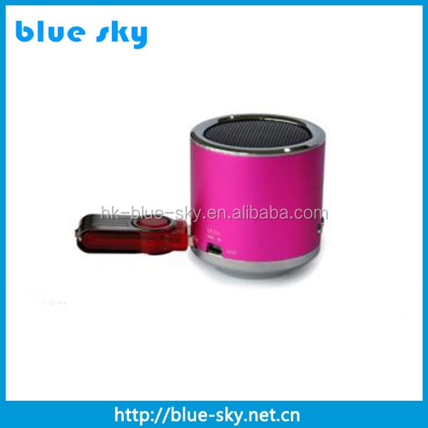 Factory price shenzhen usb creative mini speaker with good quality sound