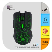 Fantech USB Mouse 6D optical wired laser gaming mouse