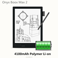 ebook reader Max 2 with stylus touch & pressure sensitivity