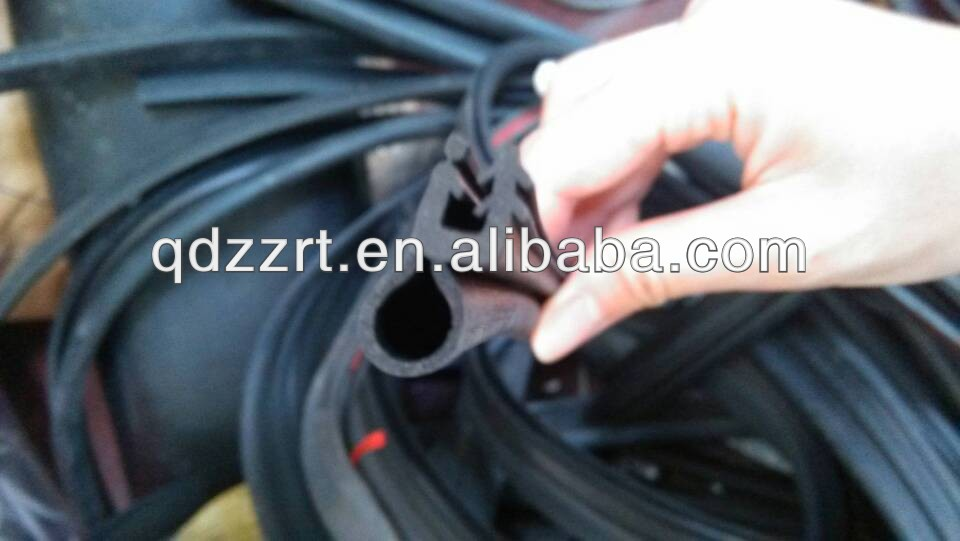 providing of function of the soft rubber strip