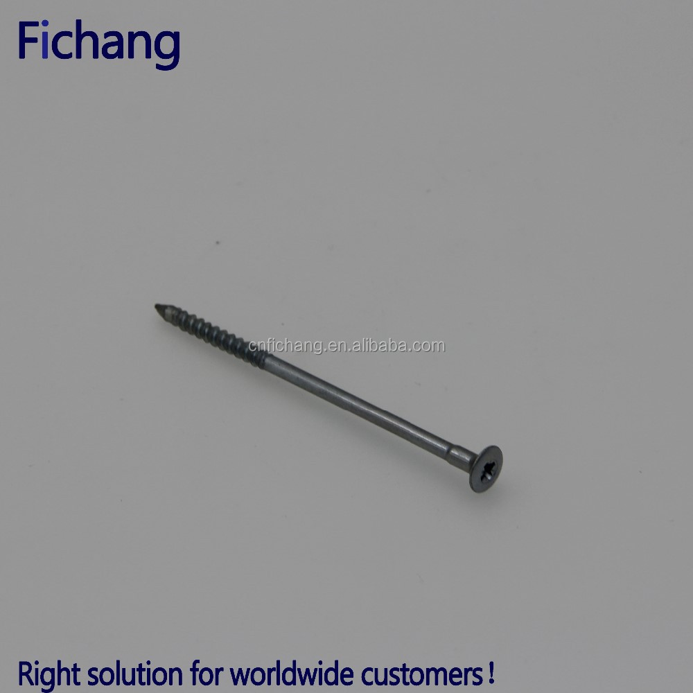 Metal screws and fasteners twist lock fasteners