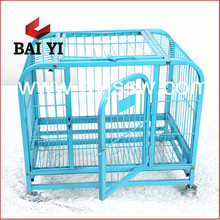4 Wheel Foldable Steel Tubing Dog Cage Hot Sale in Philippines