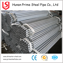 Scaffold used BS1387 galvanized steel pipe / ERW carbon steel pipes