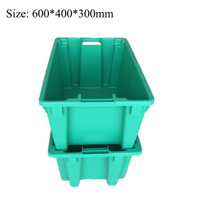 600*400*300mm Turnover Fish Boxes