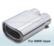 Stainless steel exhaust mufflers for BMW