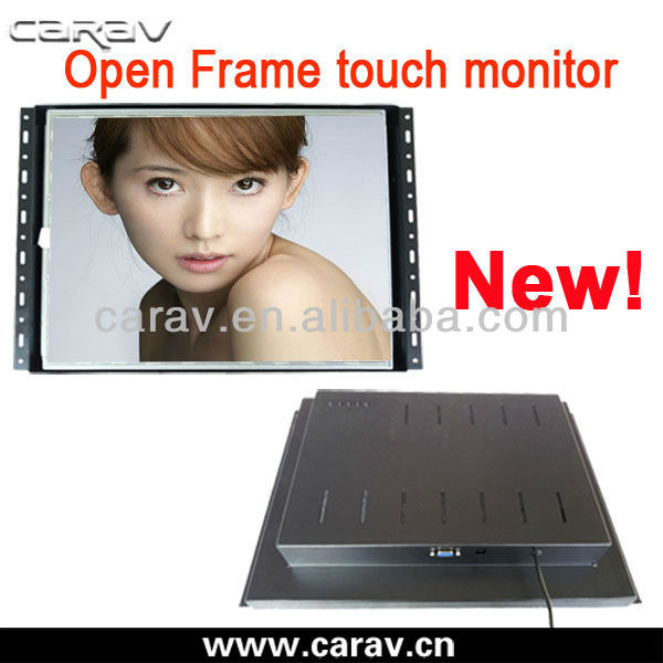 15 inch touch screen frameless lcd monitor