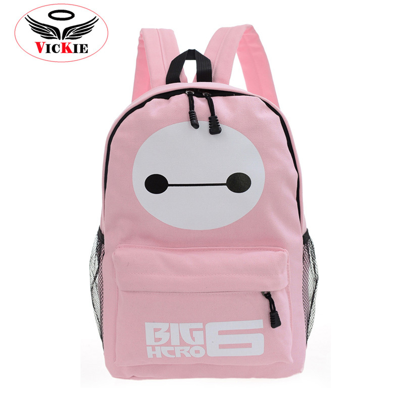 c7d2966eebae Buy 2015 Latest Baymax Canvas Backpack Unisex School Bag Fashion Travel  Bags Brand Casual Student Backpacks Girl Mochila Escolar B43 in Cheap Price  on ...