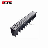 U Shaped Drain Drainage Channel Steel Grates