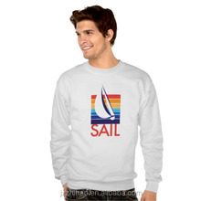 long sleeve white sailer's printing tee design your own t-shirt