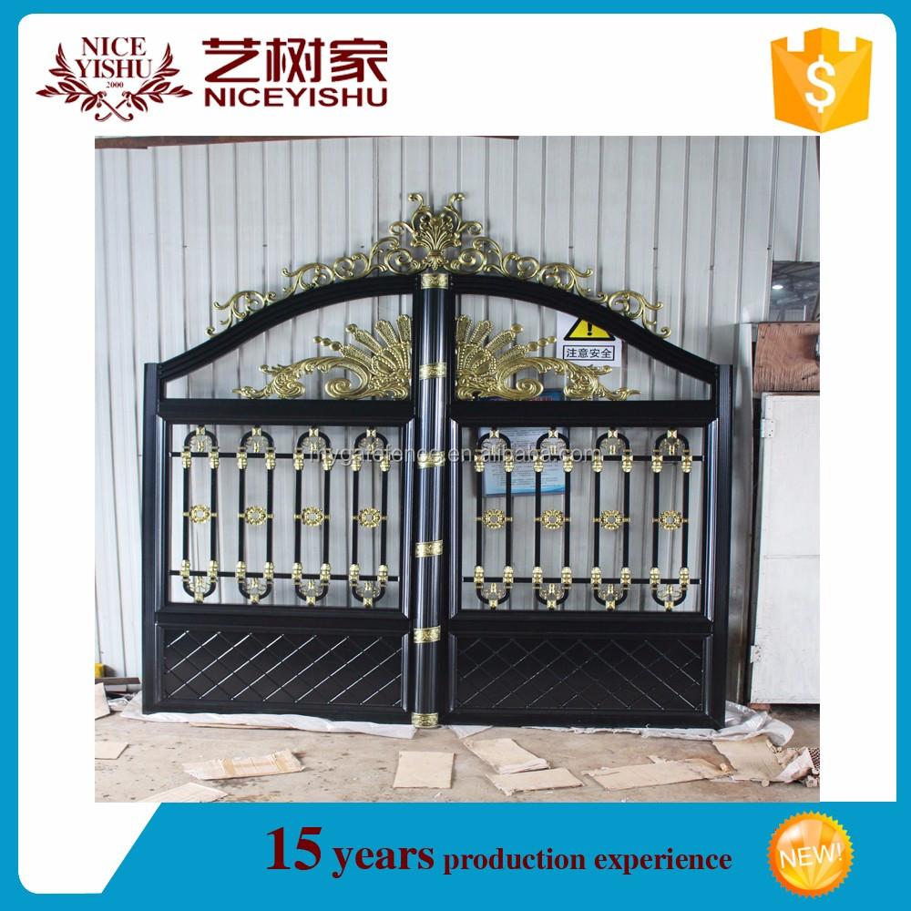 Luxury Aluminum Frame Gate Grill Aluminum Panel House Main