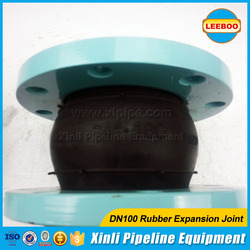 Rubber flexible joint for pvc pipe