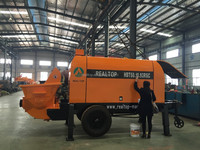 trailer mounted concrete pump (output capacity 100/60 m3/h)