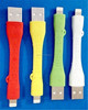 Short colorful 20cm USB Lead Charger Cable Data Sync Wire for iPhone 6,6+, 5,5c,5s