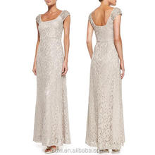 OEM clothing manufacturer Own factory supplier long guest maxi dress