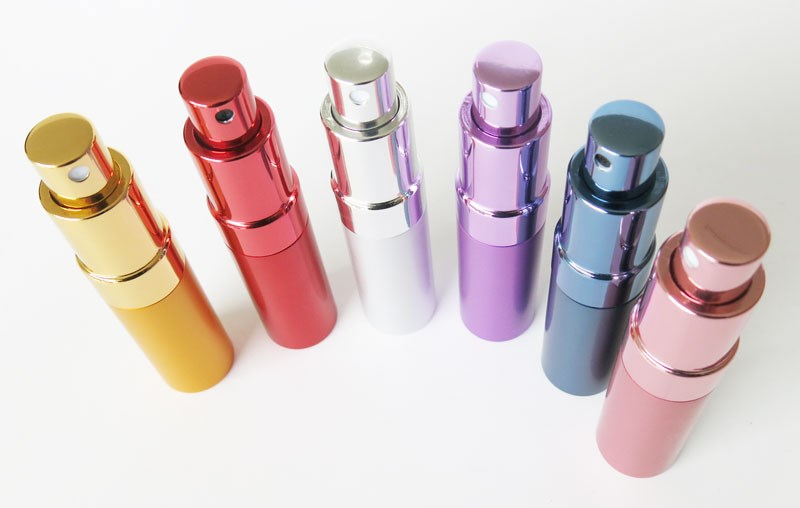 High quality 15ml metal refillable perfume atomizer