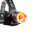 Fashionable factory CE ROSH 2000LM 3 Modes XML T6 LED Headlamps + Charger Adapter