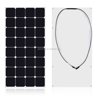 90W 100 Watt 110W 120W 135W 145W High Efficiency Flexible Solar Panel China