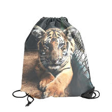 Wholesale Sheep Polyester Drawstring Shopping Backpack