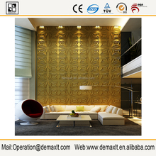 2016 Vietnam 3D faux leather covering wall panel 3D wall panel panel 3D