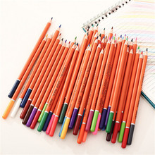 multi color wooden convenient 48 color pencil set