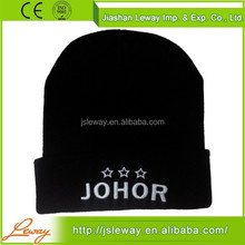 High quality China sale winter knitted european hat cap