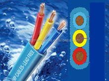 3 Core 3/0 AWG Flat Submersible Cable /Pump Cable