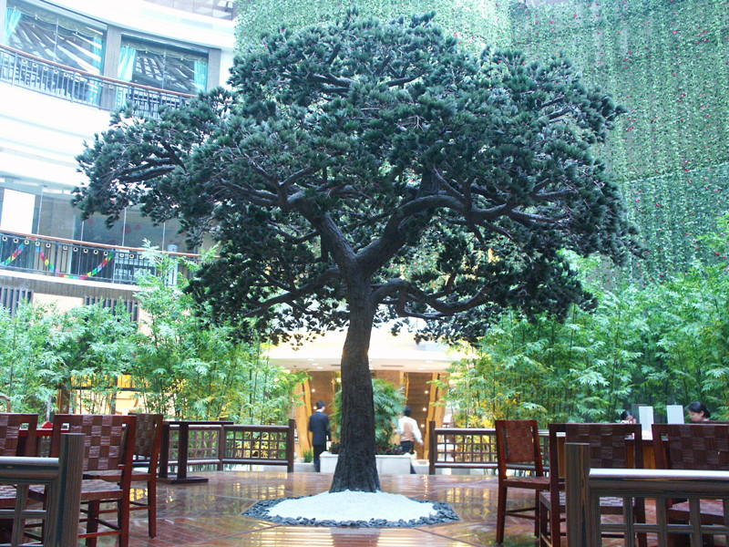 2015 High quality new products cheap plastic artificial banyan ficus tree wholesale